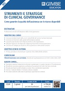 Strumenti e strategie di clinical governance