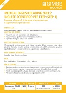 Medical English reading skills: inglese scientifico per l'EBP (Step 1)