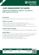 Lean Management in sanità