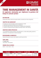 Time management in sanità